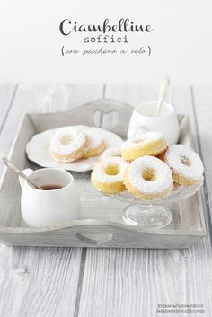 The Rabbit Hole: soft pretzels with icing sugar