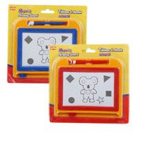 BUY: Put one in every car, near every potty, in your purse etc.... awesome busy time activity!  Bulk Mini Magnetic Drawing Board & Pen Sets at DollarTree.com