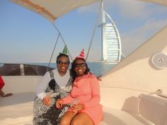 You're never too old for a festive hat! Yacht Cruises, Beautiful Black Women, Dubai, Festive, Traveling, Hat, Woman, Viajes, Chip Hat