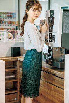 the office clothes Ol Fashion, Curvy Fashion, Asian Fashion, Skirt Fashion, Autumn Fashion, Fashion Trends, Stylish Office Wear, Stylish Summer Outfits, High Street Fashion