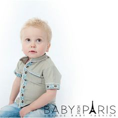 www.babyfromparis.com  www.facebook.com/babyfromparis  #baby #babyclothes #babyclothingset #bebe #babystuff #babyboy #babyshower #babyoverhemd #overhemd #piraat