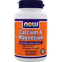 Better quality saves u more! 3 NOW Calcium & Magnesium 100 tablets in lots to save u more buy 3 - 4 - 5 items #NOW