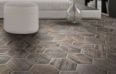 Perini Tiles- Timber look porcelain- Ravello Timber Tiles, Tile Showroom, Hexagon Tiles, Melbourne, Tile Floor, Living Spaces, Porcelain, Flooring, Wall