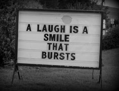 Laughter is a smile that bursts!   smiling :)