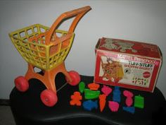 These Tuff Stuff  toys, made by Mattel, were released in the early 70s. The mixer worked by pulling a string and pushing the top yellow butt...