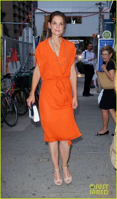 The best look of the Katie-Holmes Independence tour