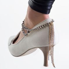 Jewelry Women Tassel Anklets Foot Chains SLAVE ANKLE For High-heeled Shoes Accessories Metal Tassels Chain Gold Silver Anklets Body Jewellry Online with $0.76/Piece on Worldfashionoutlet's Store | DHgate.com