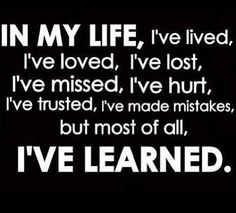 Lessons on life : sayings and quotes about life