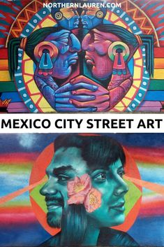 The best street art in Mexico City, in Roma-Condesa, Coyoacán, Colonia Doctores and the Historic Centre. If you're wondering where to see and find Mexico City street art, this is the post for you. Best Street Art, Amazing Street Art, México City, City Streets, World Street, Graffiti Murals, Beautiful Streets, Mexico Travel, Culture Travel