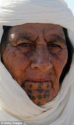 Kurdish face tattoos - Google Search