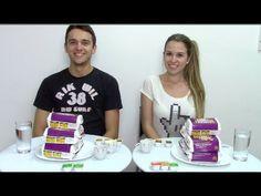 Desafio dos Nuggets - The Chicken Nugget Challenge (com Leandro). Namorado Fabi Santina. Leandro Fabi Santina. Desafio com o namorado. Desafio casal