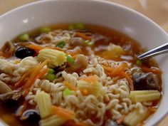 Get this all-star, easy-to-follow Tea Kettle Noodle Soup recipe from Ree Drummond