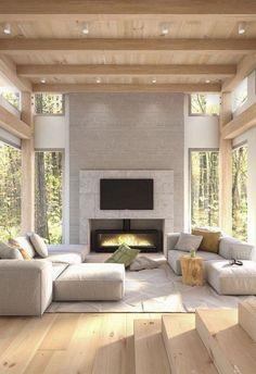 Modern living room Evolution Architecture, Modern Architecture, Architecture Colleges, Architecture Tools, Sketch Architecture, Architecture Interiors, Victorian Architecture, Architecture Details, House Goals