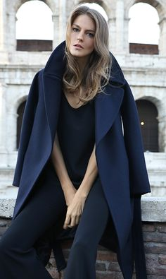 Our fall collection features dreamy Italian craftsmanship, such as this wool coat, made end-to-end in Italy with heavyweight, eco-friendly Italian wool and a sleek, statement silhouette. www.cuyana.com/preview/fall-2015.html