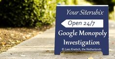 Google Monopoly Investigation Alphabet Structure, #Google is your #best #friend and #Alphabet is his father. #SEO #rules the #internet highway
