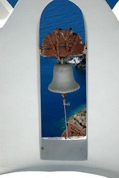 Church Bells in Santorini - Oia - Greece Beautiful Islands, Beautiful World, Beautiful Places, Amazing Places, Mykonos, Santorini Island, Greek Isles, Greece Islands, Santorini Greece