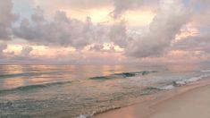 Beach Discover Beautiful Beach Sunrise A beautiful pastel colored sunrise over the ocean near Pensacola Beach Florida. Ocean Video, Beach Video, Cool Pictures Of Nature, Ocean Pictures, Beach Photography, Nature Photography, Sky Aesthetic, Aesthetic Pastel, Aesthetic Videos