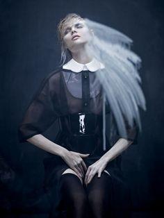 Magdalena Frackowiak by Aitken Jolly for Dansk AW 2011-2