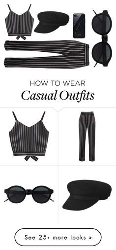 """Black casual"" by lianne-molenaar on Polyvore featuring Haider Ackermann and Sefton"