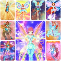Bloom: Magic Winx - Charmix - Enchantix - Believix - Sophix - Lovix - Harmonix - Sirenix - Bloomix