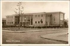 Dorpsschool aan de Tuinstraat. Bron: Leven in Holten