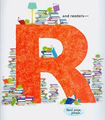 Image result for Letter R with books