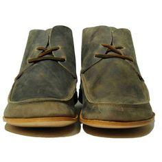 Cydwoq Tourist Apron Toe Flat 2-Eye Lace-Up Shoe Tourist-Wosh ($225) ❤ liked on Polyvore featuring shoes, women, cydwoq shoes, cydwoq and flat shoes