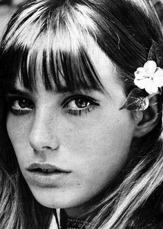 """Model and singer Jane Birkin"" 1969, photo by Italian photographer GIANCARLO BOTTI (born 1931)"