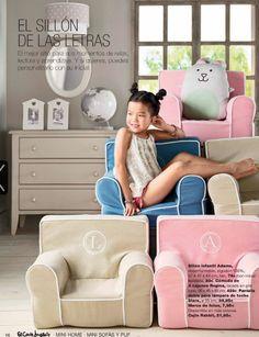 Mini home El Corte Inglés sillones infantiles #Home #Deco