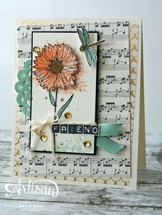 Stampin' Up! Touches of Texture, acetate sheet