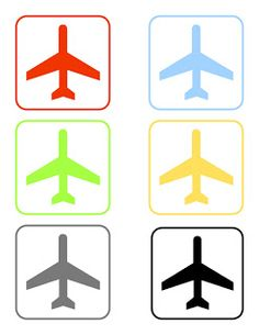 More free printables for Airplane Birthday Party