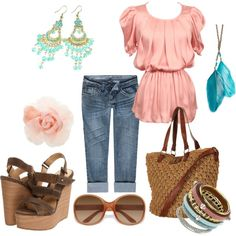 Girl's Day Out, Spring, created by feellikedancin on Polyvore