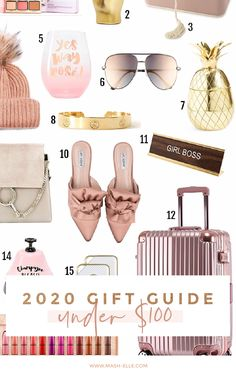 A roundup of the best gift ideas for the women in your life. Gift ideas include: pom pom beanie, t3 straightner, it cosmetics makeup kit, jewelry organizer, home organizer, funny mugs, aviator sunglasses, home decor items, rose gold accessories, pink suitcase. #giftsforher #amazongifts #amazonstyle #founditonamazon #amazonmusthaves #giftsforwomen #giftsforgirls #affordablegifts #beautykits #amazonhomedecor #amazonsales