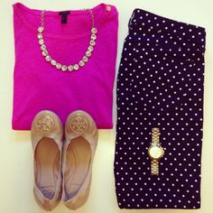 this would be a cute outfit for work!