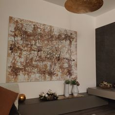Ispirazione oro zona giorno living My Works, Interior, Gold, Indoor, Interiors