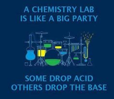 Chemistry lololol <3 . I want this shirt!! Made my day. Granted, if we dropped anything in the lab, we'd be dead!!