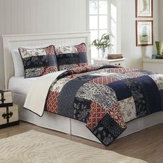 Shop Wayfair for Quilt & Coverlet Sets to match every style and budget. Enjoy Free Shipping on most stuff, even big stuff.