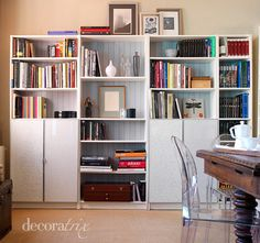 Billy Bookcase, Easy to Assemble Billy bookcase with