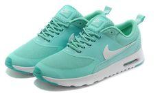 brand new 661ec cd14e Nike Air Max Thea Mint Green White Tênis Nike Feminino, Sapatos, Barato Nike  Air