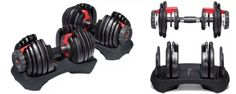 Bowflex Dumbbells 552 and 1090 Review - Fitness for The Masses