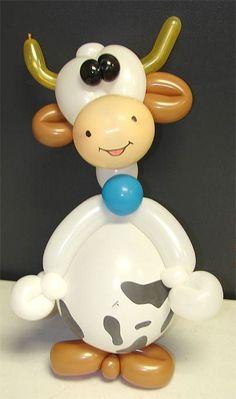 Cow Centerpiece