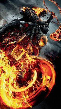 Ghost Rider Spirit Of Vengeance Marvel Comics Ghost Rider Kostüm, Ghost Rider Drawing, Ghost Rider Motorcycle, Ghost Rider Tattoo, Ghost Rider Johnny Blaze, Ghost Rider Marvel, Ghost Ghost, Ghost Rider Wallpaper, Skull Wallpaper