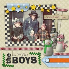 This a scrapbook page I made up with one of my digital scrapbook kits that can be found in the store at https://store.digitalscrapbookplace.com