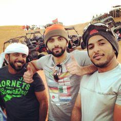 Mansoor MRM con amigos. Vía: alkitby81