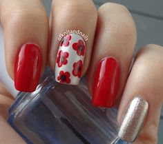Tales of Knit and Nails: Remembrance Day Remembrance Day, Ring Finger, Nails Inspiration, Pretty Nails, Makeup Ideas, Poppy, Nail Designs, Nail Art, Knitting