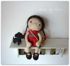 Amigurumi Crochet Doll Leah by Rusi Dolls por RusiDolls en Etsy