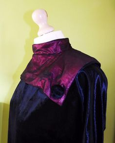 Beautiful backless velvet black and purple dress ,original from Angie's in Oasis Birmingham 1981