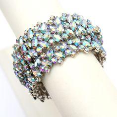 Blue Aurora Borealis Cuff  -- for if I ever win the lottery!