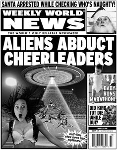 August 14, 2006 Cover | Weekly World News