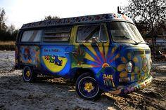 Old VW Camper Van by www.bazpics.com, via Flickr